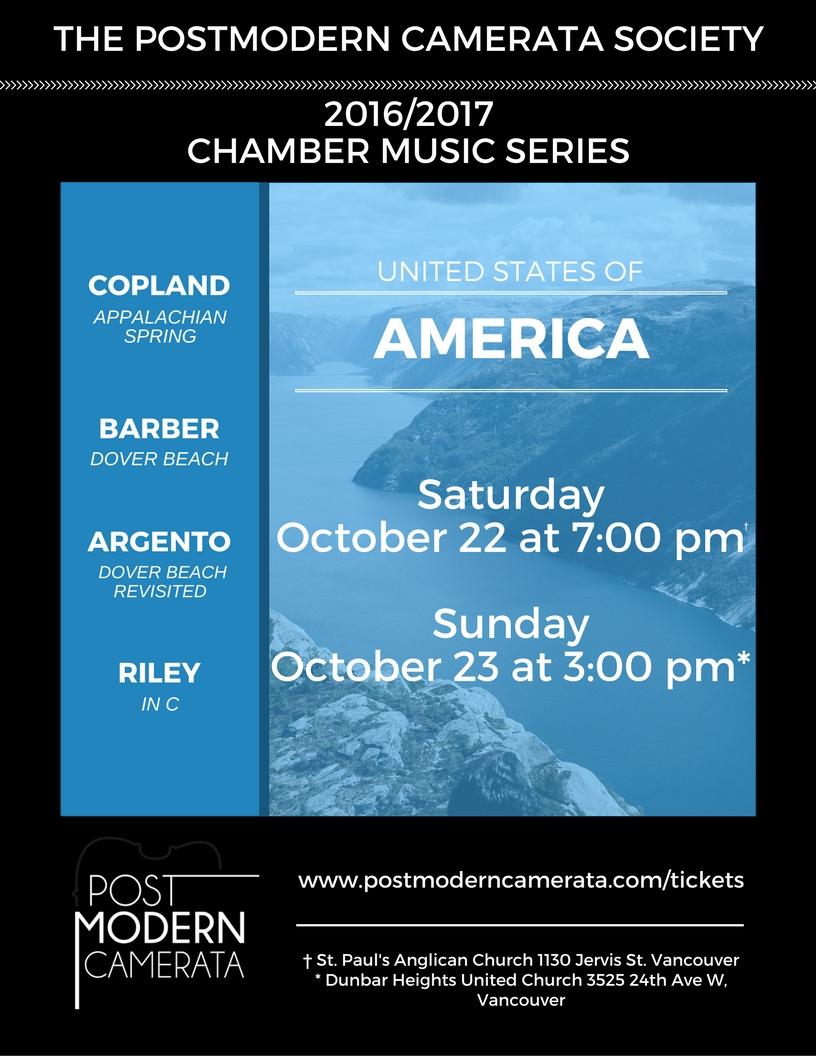 October Programme