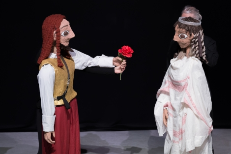 Dido and Aeneas: the Puppet Version (2017). Photo by Michelle Doherty from Diamond's Edge Photography